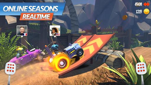 Racing Rocket : Parkour Rivals 1.0.3 screenshots 1