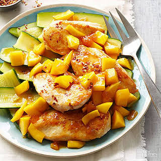 Triple-Mango Chicken.