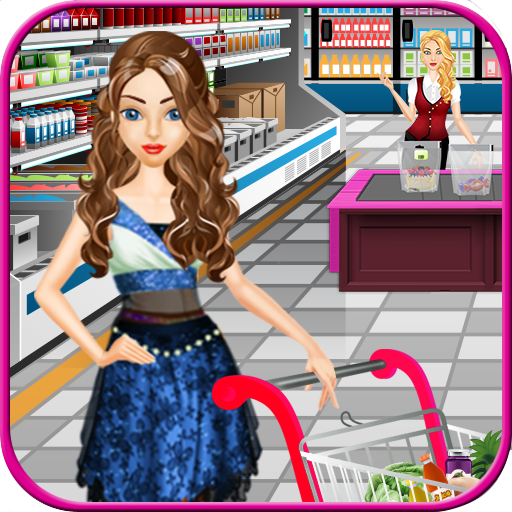 Supermarket Shopping Girl 休閒 App LOGO-硬是要APP