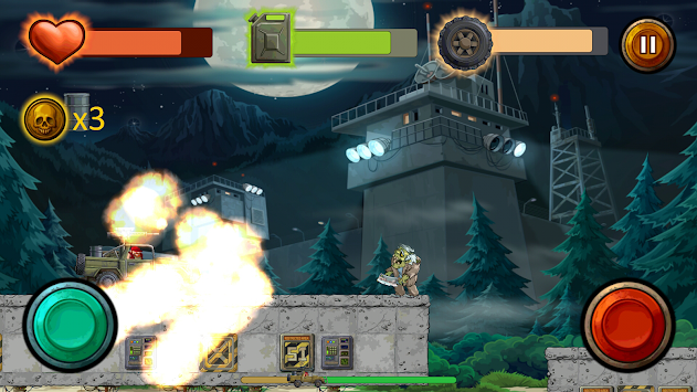 Guns And Wheels Zombie (Full) APK screenshot thumbnail 5