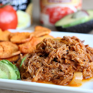 Pulled Pork with No Sugar Added BBQ Sauce.