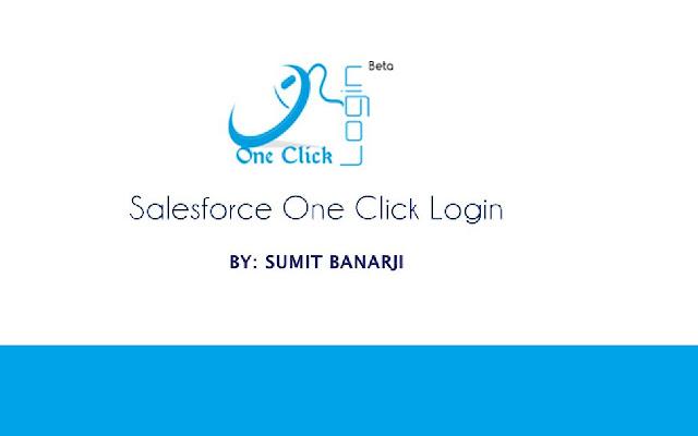 One Click Salesforce Login