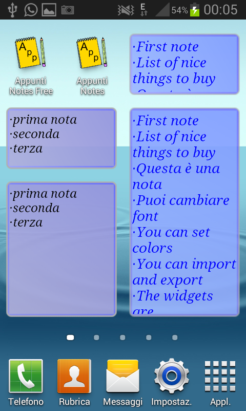 Notes Appunti free- screenshot