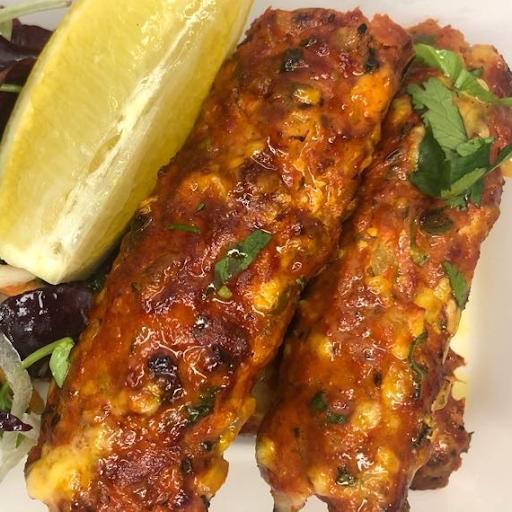 Malmali Seekh Kebab