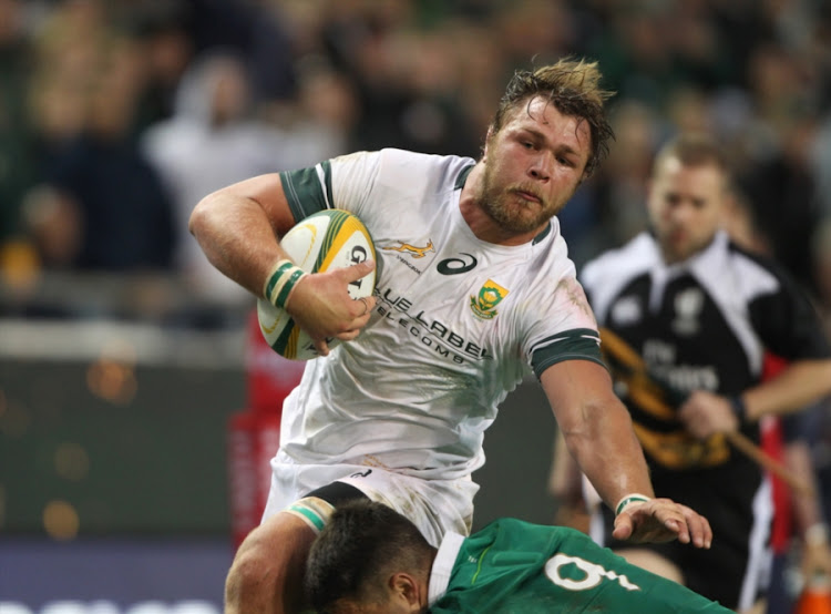 Duane Vermeulen of South Africa during the 1st Castle Lager Incoming Series Test match between South Africa and Ireland at DHL Newlands Stadium on June 11, 2016 in Cape Town, South Africa.