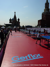 Photo: Temp. Install Red Square Moscow