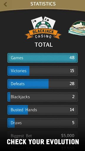 Blackjack 21 Jogatina: Casino Card Game For Free 1.5.1 Mod screenshots 5