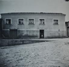 Photo: Casa de la plaza de Santa Catalina. Proveedor: Carmen Bustillo. Año: 1958.