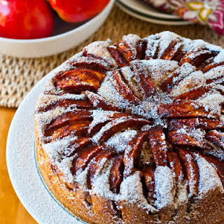 Apple Topped Cake.