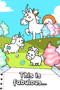 Unicorn Evolution - Fairy Tale Horse Game- screenshot thumbnail