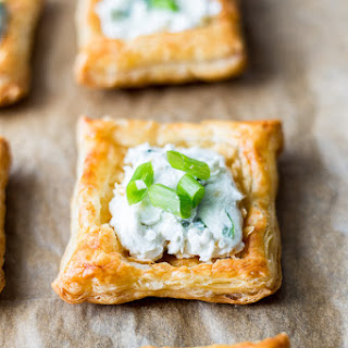 Creamy Blue Cheese Puff Pastry Squares Recipe