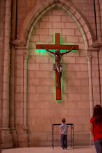 """Photo: A replica of the """"Black Christ."""" More on that later on in the trip."""