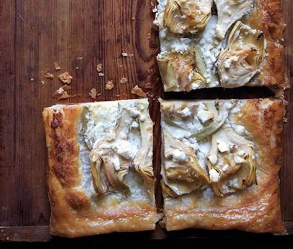 Artichoke & Feta Tart Recipe