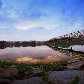 The Bridge by Jeff T - Landscapes Waterscapes ( pw bell )