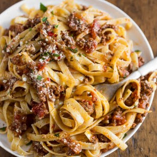 Slow Cooker Parmesan Meat Sauce