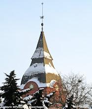 Photo: Kirchturm in Reuterstadt Stavenhagen
