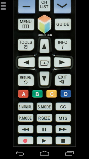Remote for Samsung TV (WiFi) for PC