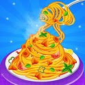 Make Pasta Food in Cooking Kitchen icon