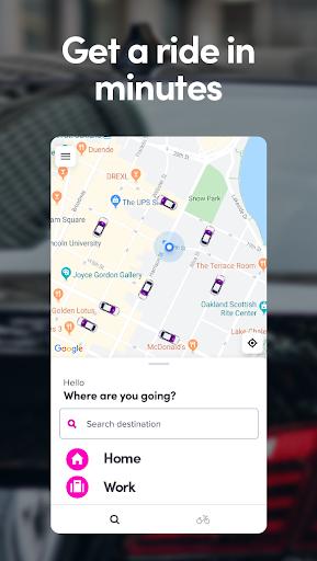 Lyft - Rideshare, Bikes, Scooters & Transit screenshots 1