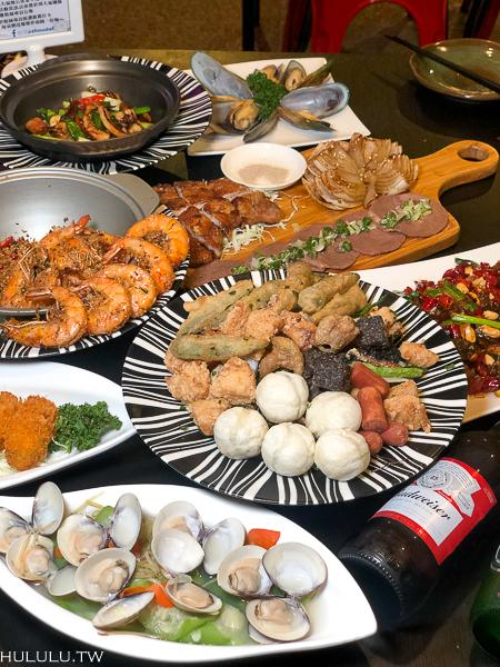 『周大福鹽酥雞』超平價的鹹酥雞內用餐廳 !晚餐,宵夜看這邊,貼心提供外送服務!|熱炒|烤物|