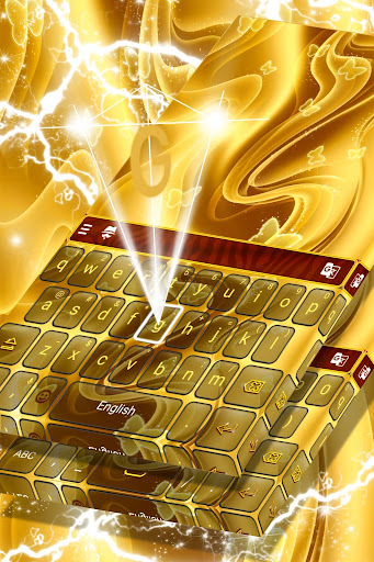 New Golden Keyboard for PC