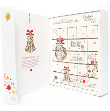 Ekologisk adventskalender med te 2020  - English Tea Shop