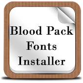 Blood Pack Fonts Installer