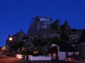 Photo: The Rock at Night through my iPod Touch