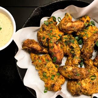 Gluten Free Creole Mustard Chicken Wings & Tenders.