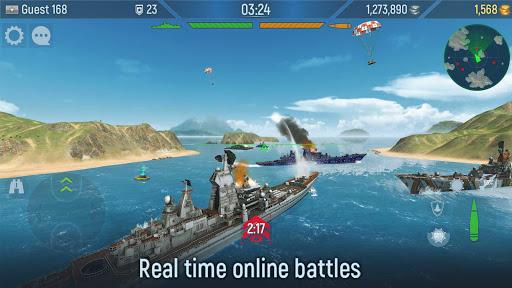 Naval Armada: Fleet Battle apkdebit screenshots 6