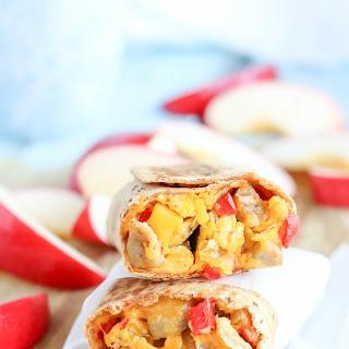 Chicken-Apple Sausage Breakfast Burritos (Freezable Make-Ahead!)