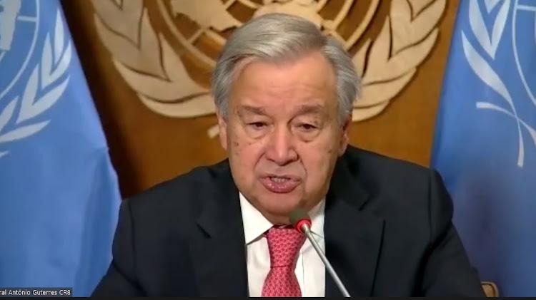 United Nation's Secretary General Antonio Guterres.