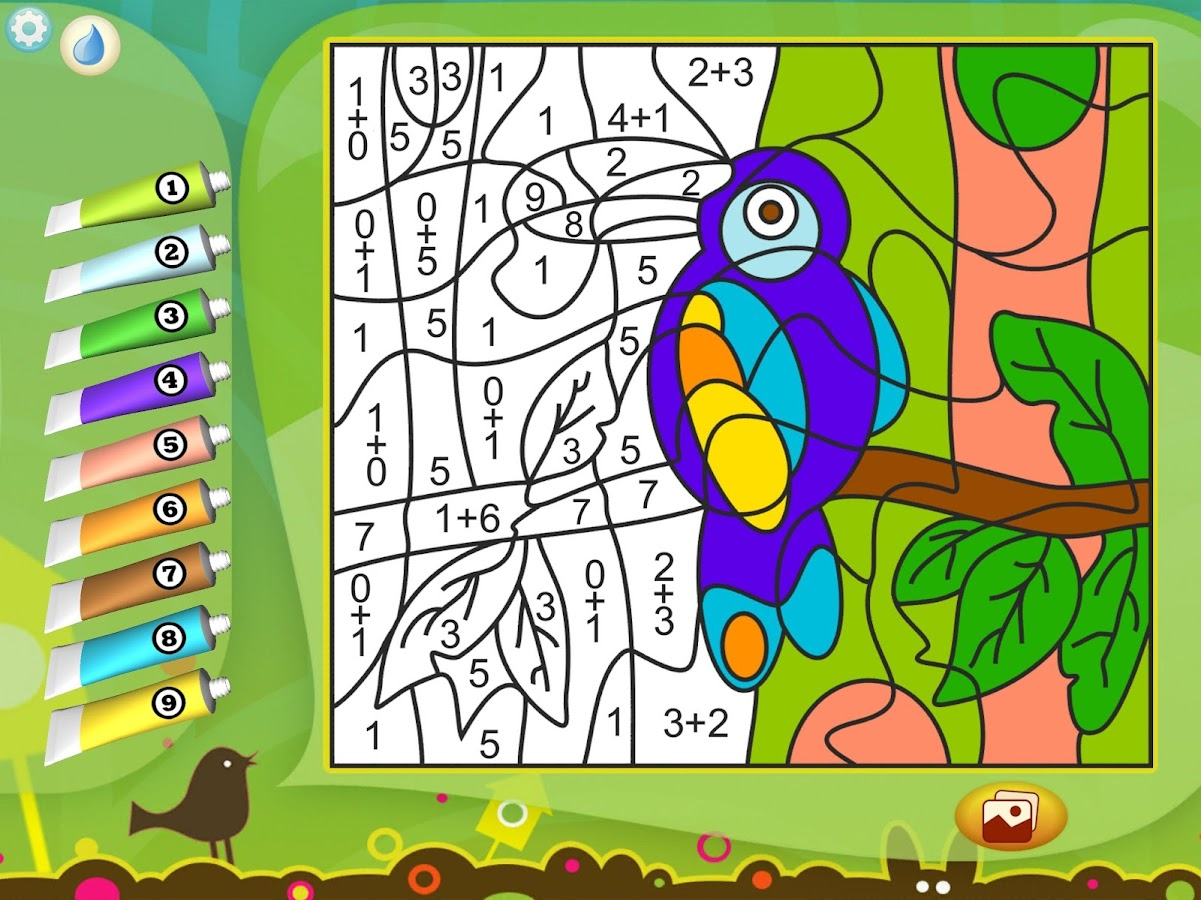 Paint by Numbers - Animals- screenshot