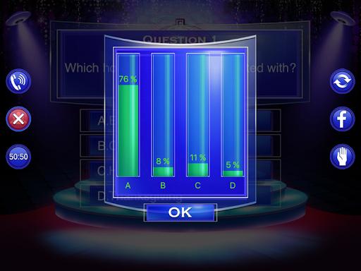 Millionaire Quiz 2018 - Trivia Game Free 2.3 screenshots 10