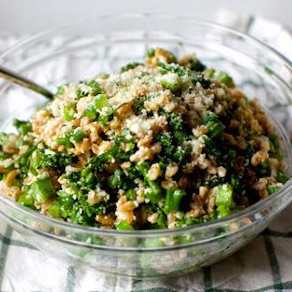 Broccoli Rubble Farro Salad.