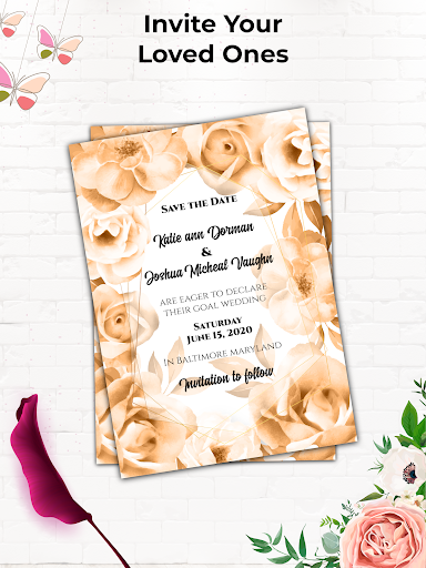 Invitation Maker Free, Paperless Card Creator android2mod screenshots 15