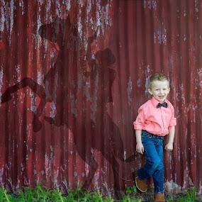 Cowboy  by Stephanie Halley - Uncategorized All Uncategorized ( child, cowboy )