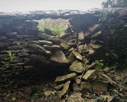 Repair required to a local farm wall