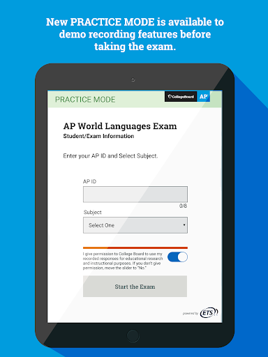 AP World Languages Exam App (AP WLEA) screenshot 12