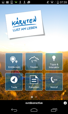 Kärnten Maps - screenshot