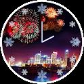 New Year Clock icon