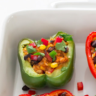 Chipotle Chicken Stuffed Peppers.