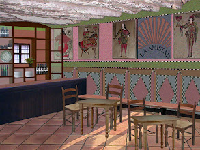 Photo: Antiguo Bar La Amistad - Reconstrucción virtual aproximada - © José Antonio Serrate Sierra