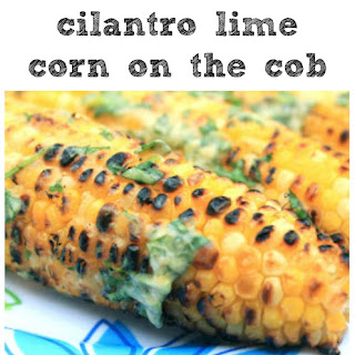 Cilantro-lime Grilled Corn On The Cob.
