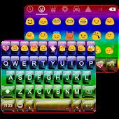 Rainbow Camo Emoji Keyboard