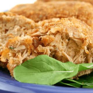 Parmesan Tuna Patties (low fat, low carb).