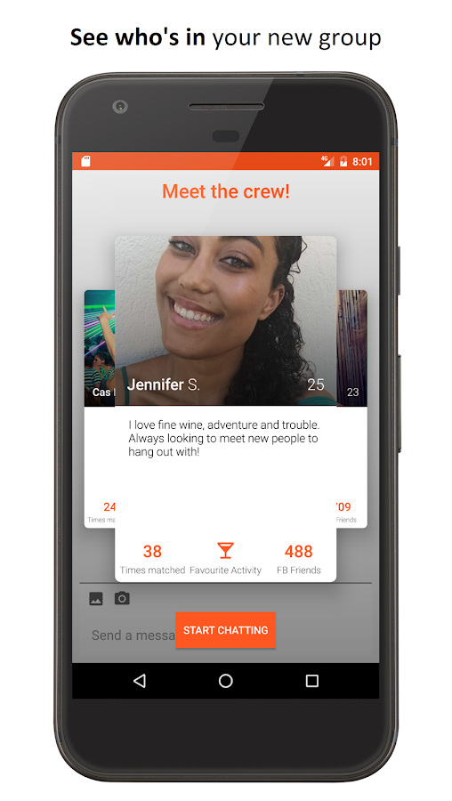 GroupFinder - Make new friends- screenshot