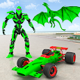 Dragon Robot Car Game – Robot transforming games