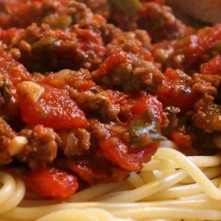 Lots O'Veggies Sausage Spaghetti Sauce