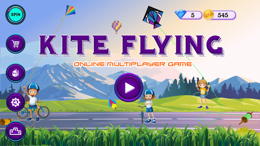 Kite Flying Online Game (Kite Battle) screenshots 1